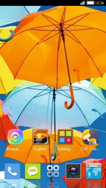 Theme for Intex Aqua Style HD