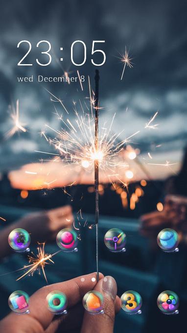 fireworks theme