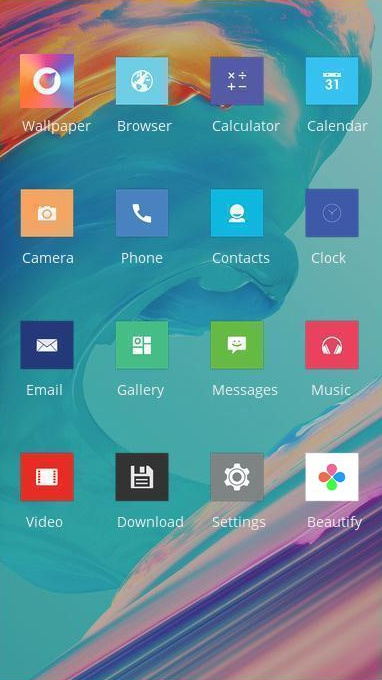 Download Oneplus 6 theme for your Android phone — CLauncher