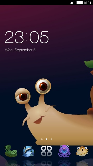 Cute Snail Theme