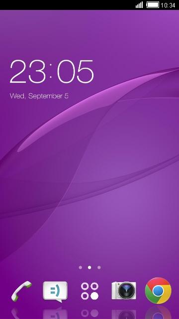 Theme for Sony Xperia Z3 Dual HD