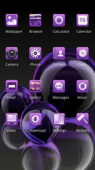 purple shine bubble