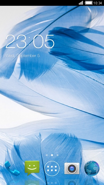 Theme for ZTE Blade A1