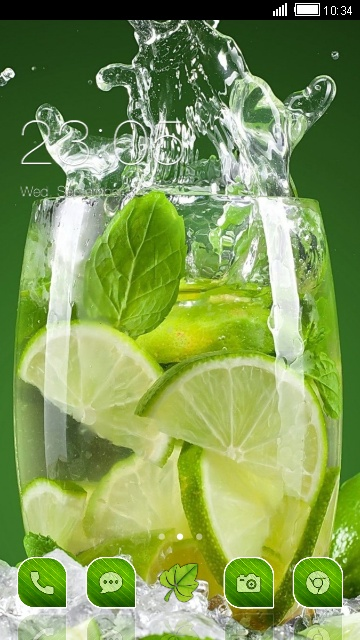 Glass.With. Lime