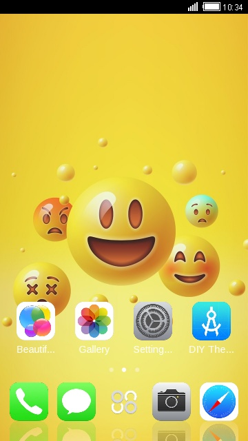 Theme For Iphone 7 Plus Emoji Wallpaper Hd Free Android