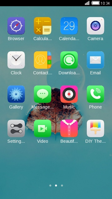 Download Nazran -( IPHONE 6 ) theme for your Android phone