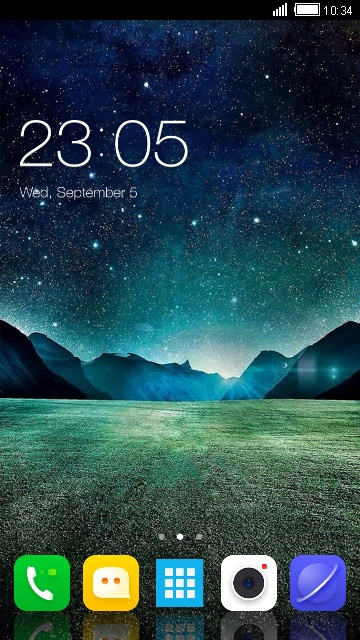 Theme for LG Stylus 3 Starry sky wallpaper