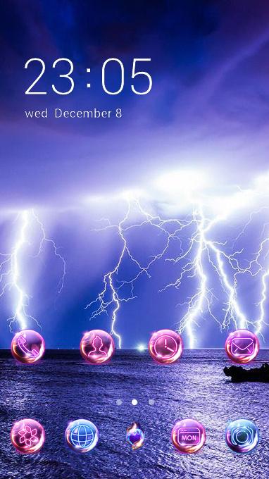 thunder theme