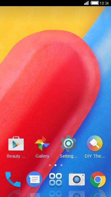 Motorola Moto C free android theme – U launcher 3D