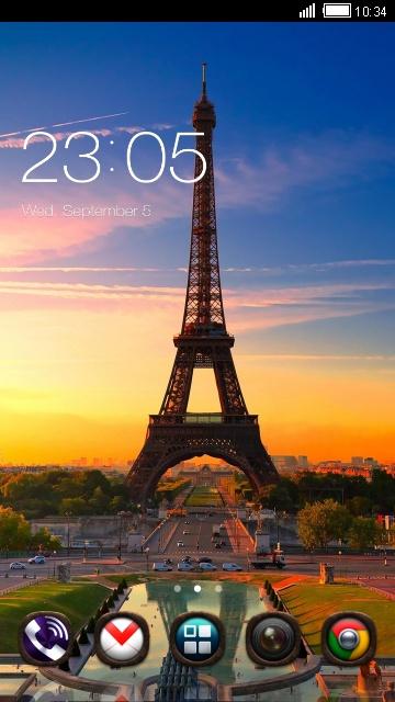 Paris Theme: Eiffel tower