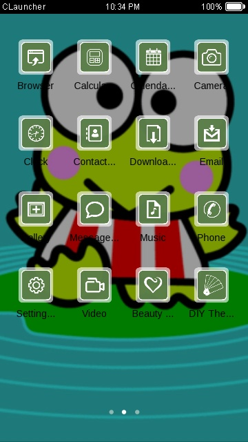 Download keroppi theme for your Android phone — CLauncher