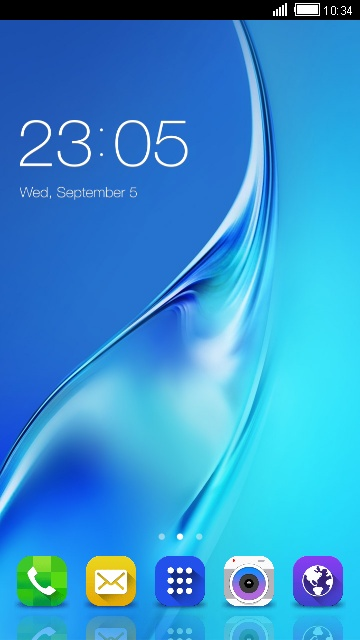 Theme For Samsung Galaxy J3 Wallpaper Hd Free Android Theme U Launcher 3d