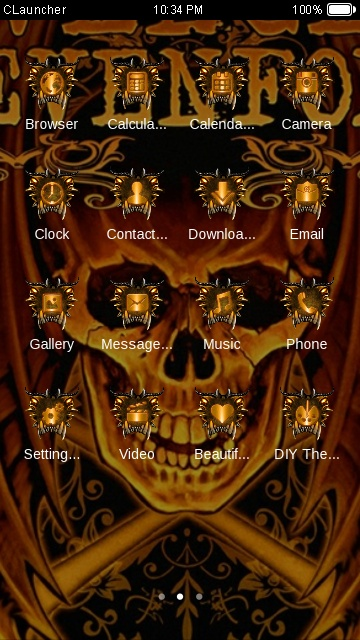 Download a7x theme for your android phone clauncher a7x voltagebd Choice Image