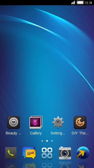 Theme for BlackBerry Z3 HD