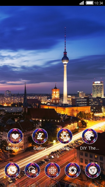 City Night Live Wallpaper Shanghai Landscape theme