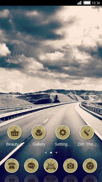 Landscape Theme Highway Road Live Wallpaper