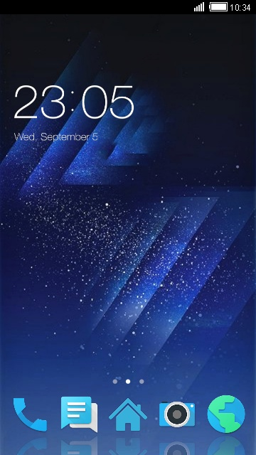 Theme for Panasonic P77 HD