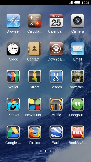 Theme for iPhone 4S HD