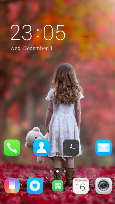 oppo a83 free android theme – U launcher 3D