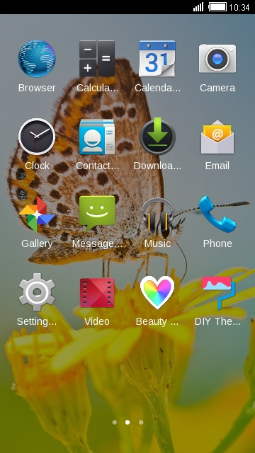 Theme for Intex Aqua Pro 4G HD