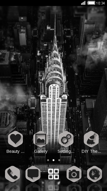 Black & White NY City