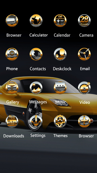 Cool theme car wallpaper