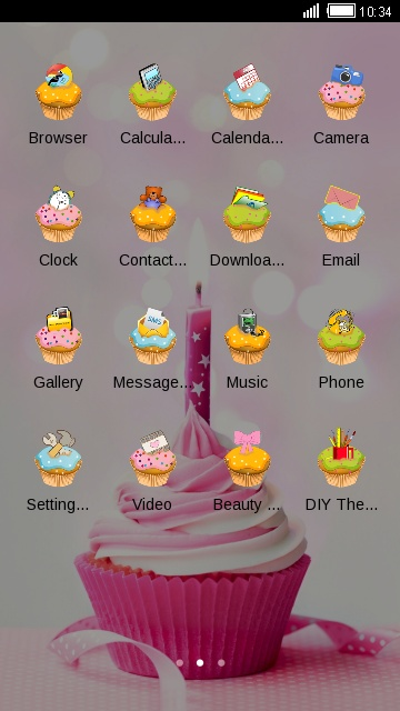 Cute Sweet Cupcake