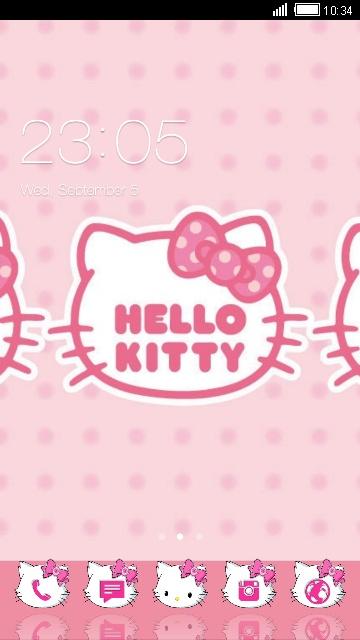 launcer hello kitty