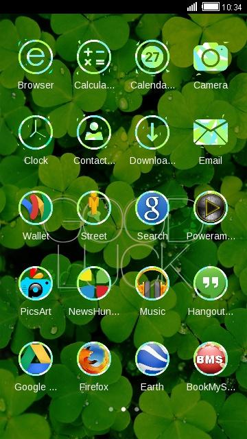 Clover Theme Nature HD Wallpaper