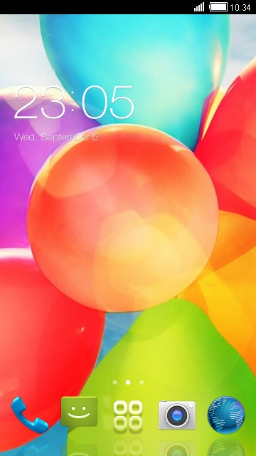 Theme for Intex Aqua 3G Pro HD