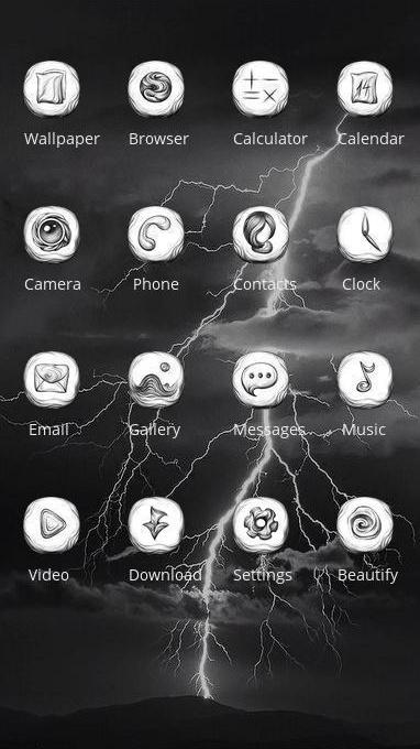 thunder theme skul
