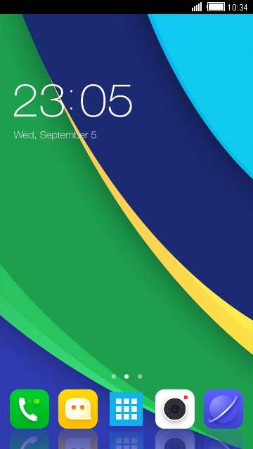 Theme for Lenovo S880