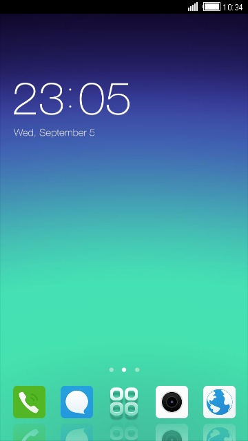 Download Gionee A1 Plus theme for your Android phone — CLauncher