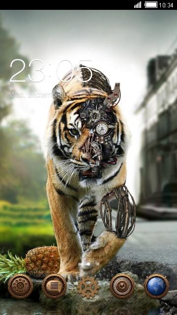 Robot Tiger_VJ