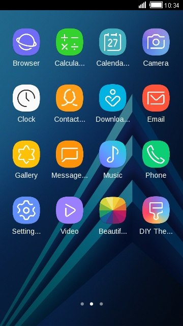 Theme for Samsung Galaxy A8 (2018) free android theme – U launcher 3D