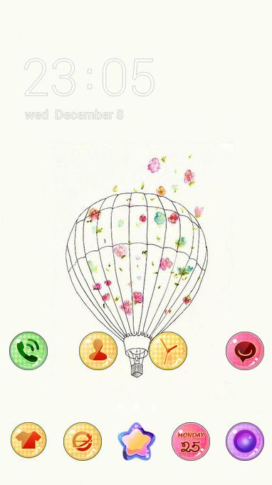balloon cute hand