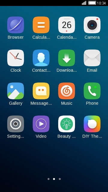 Download Lenovo A1000 theme for your Android phone — CLauncher