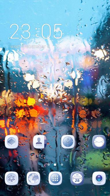 raining back