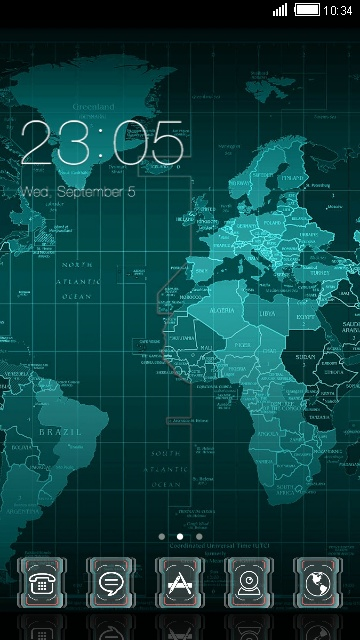 Download world map theme for your android phone clauncher world map gumiabroncs Image collections