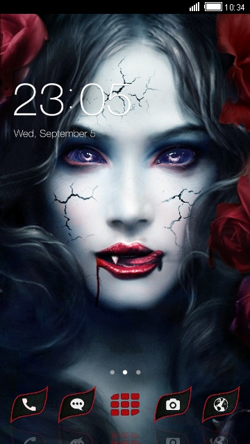 Demon Launcher Theme: Vampire