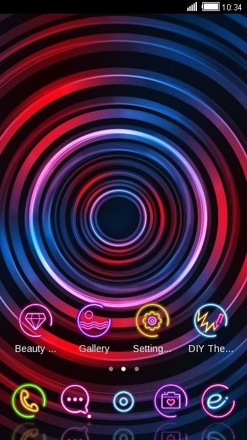neon ripple