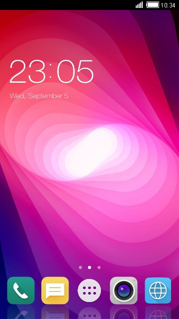 Theme for LG X power2