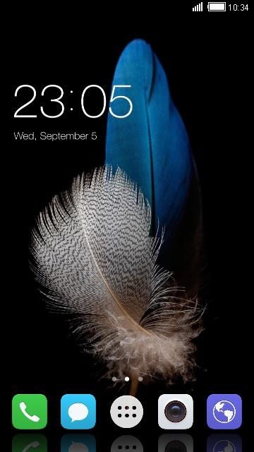 Huawei Ascend P8 lite Theme