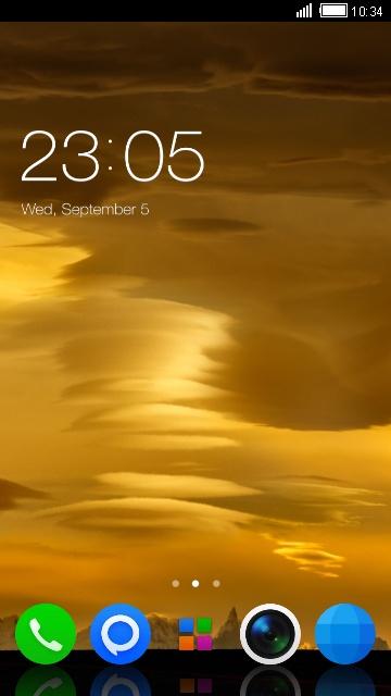 Theme for Nokia 701
