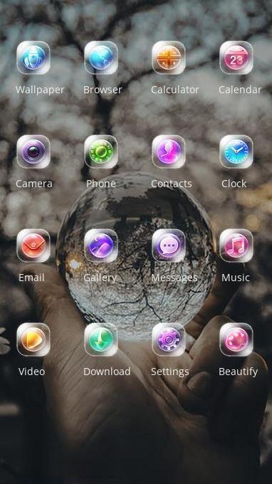 crystal ball theme