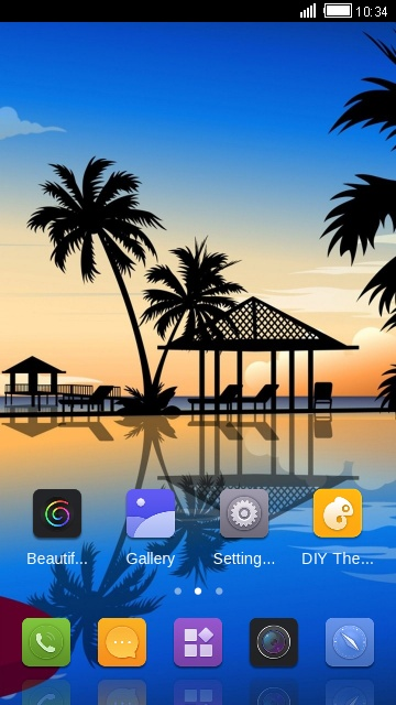 Theme for Gionee S6 Pro travel wallpaper