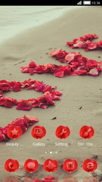 Love Rose Red Flower