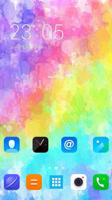 colorful brilliant