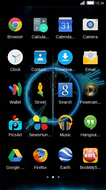 Theme for Xolo LT2000