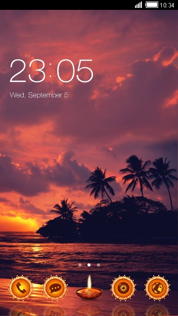 Twilight island Theme Live Wallpaper HD
